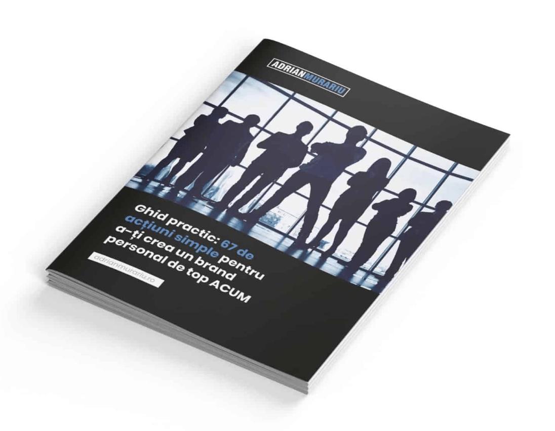 Ebook: Ghid practic pentru a-ți crea un brand personal de top prin bune maniere, tehnici de comunicare și reguli de etichetă