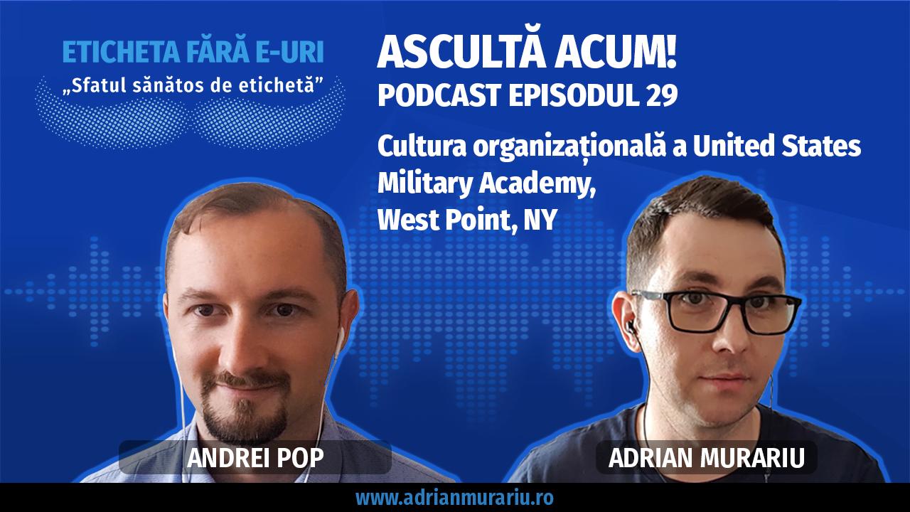 Eticheta fara E-uri Cultura organizationala a US Military Academy West Point